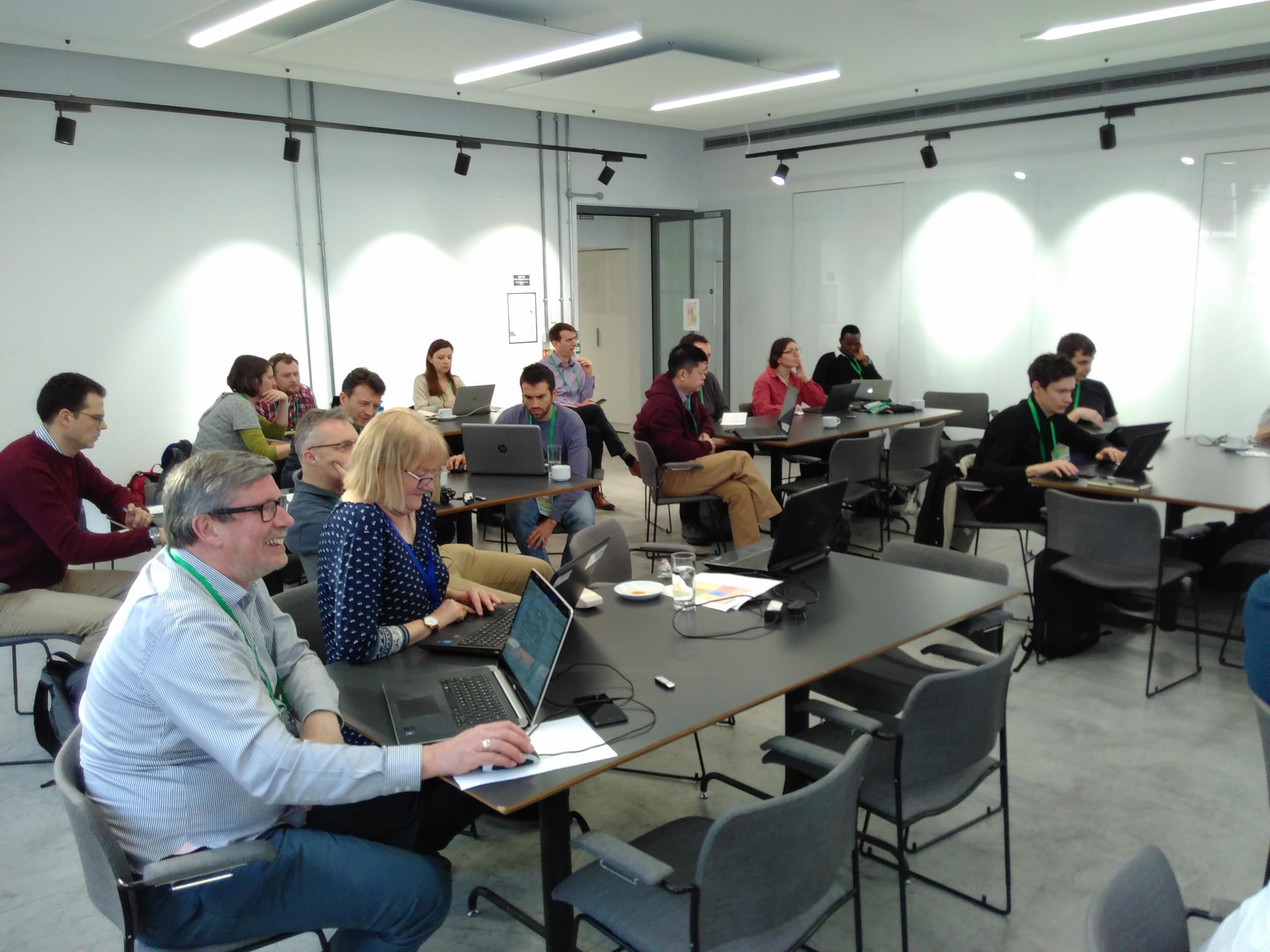 FOSS4G UK 2018 Workshop