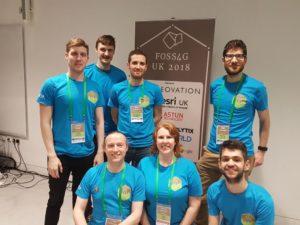 FOSS4G UK 2018 Team Photo